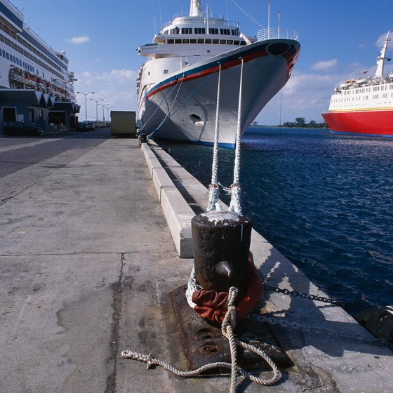Your Carnival cruise ship has to clear customs and immigration before anyone can disembark.