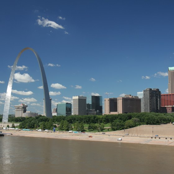 There are many beaches within reasonable driving distance to St. Louis, Missouri