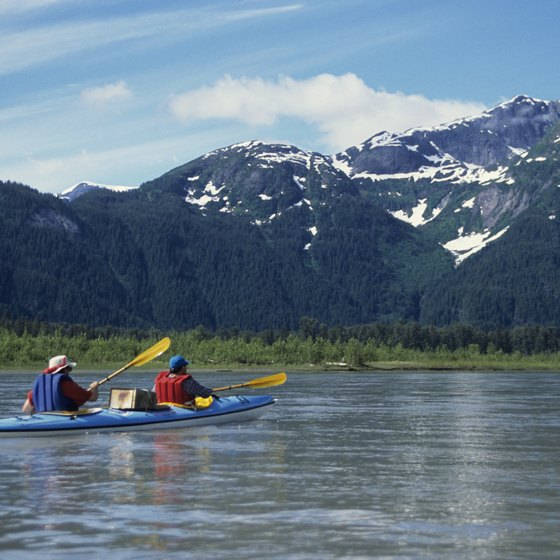 Pack waterproof clothing for outdoor activities in Alaska.
