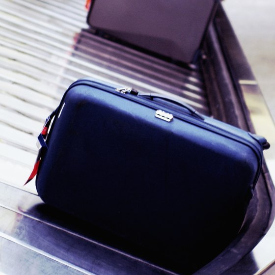 Don't pack flammable or explosive items in your checked luggage.