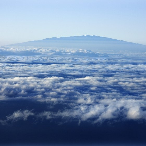 Mauna Kea is a massive, looming shield volcano.