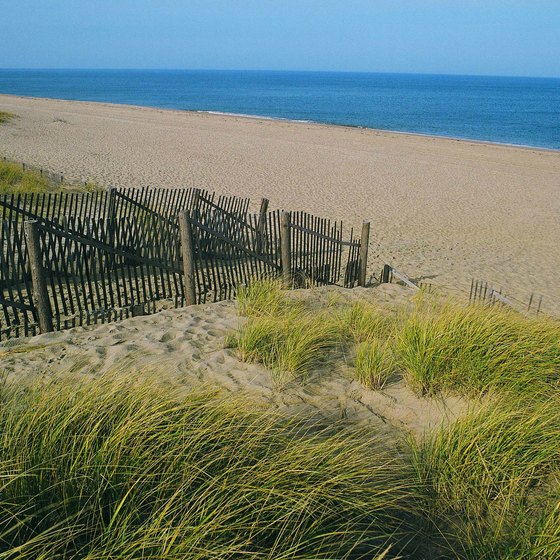 The beach at Provincetown on the Cape Cod National Seashore