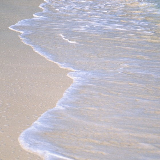 Award-winning sand in the Turks and Caicos