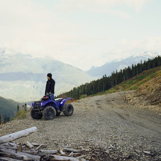 Explore scenic Kebler Pass and its side trails on your ATV.