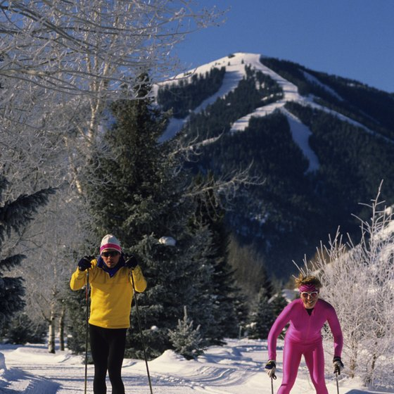 Sun Valley, Idaho, is a skiing mecca.
