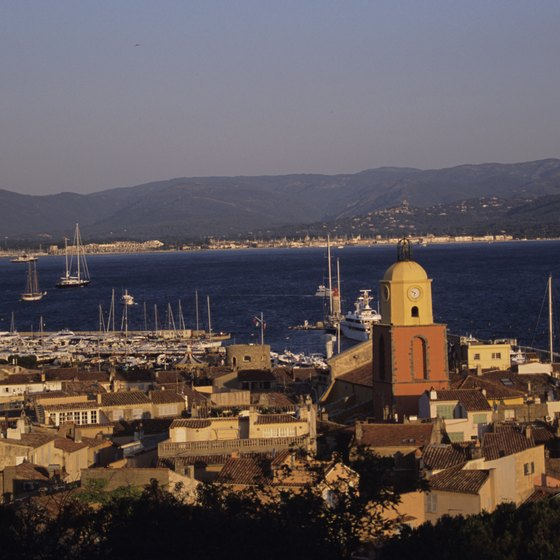 St. Tropez is one of France's most popular beach destinations, and a well-known celebrity destination.