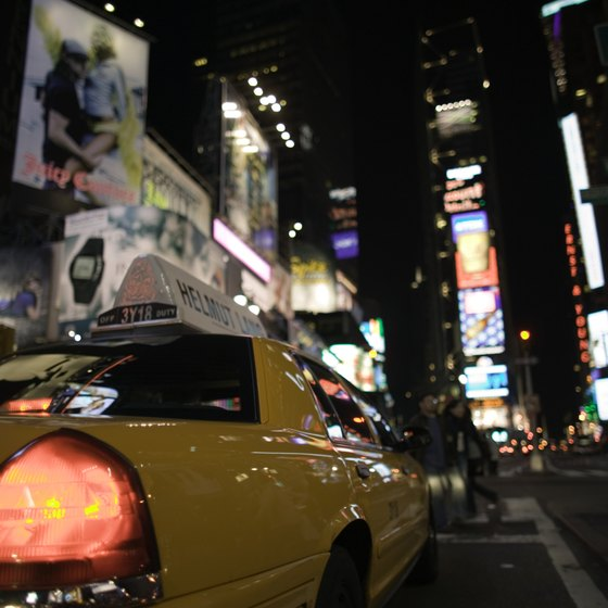 New York's Times Square draws millions of visitors each year.