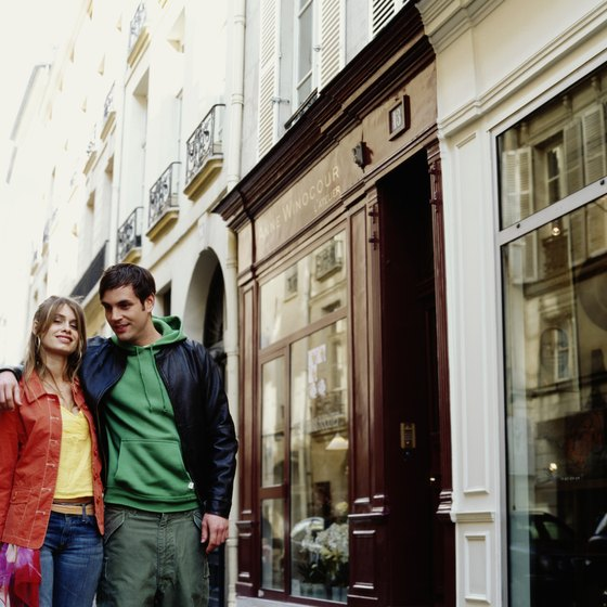 Shopping remains a favorite pastime for Paris' visitors.