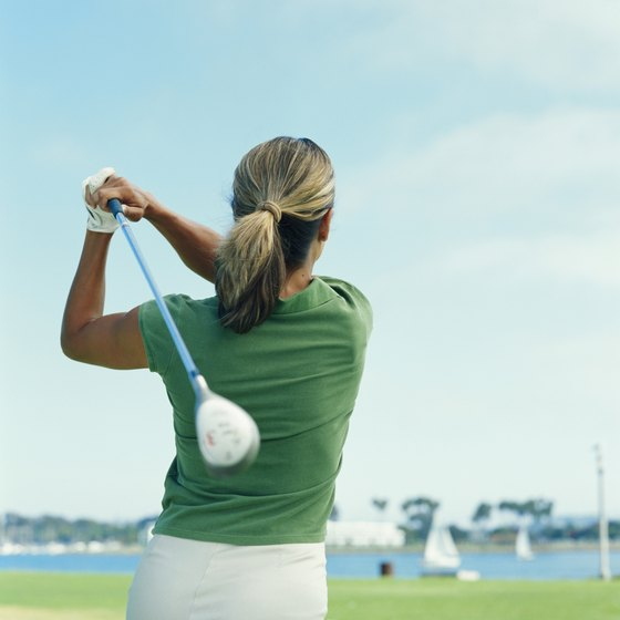 Golf is one activity RV campers can enjoy near Carthage, Texas.
