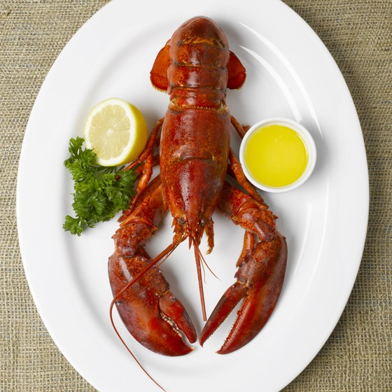 Enjoy a seafood feast while dining along Main Street in Bay Shore, New York.