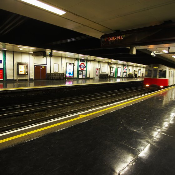 The trip from Gatwick Airport to the Victoria Underground is just 30 minutes during the week.