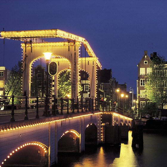Stroll through the Netherland's delightful capital by night during your weekend excursion.