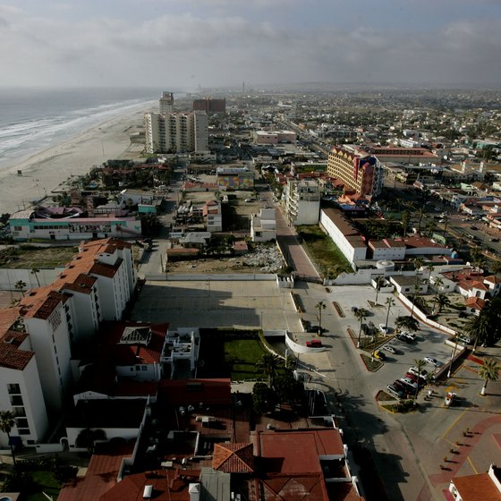 Rosarito is 20 miles from the U.S.-Mexico border in Baja California.