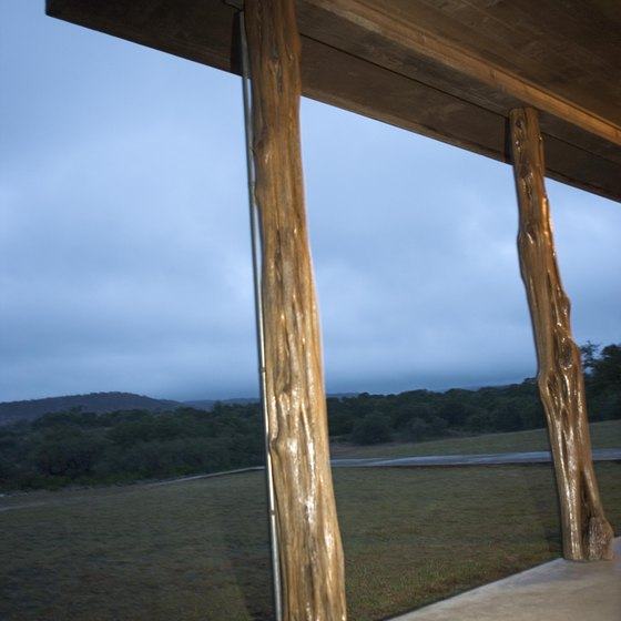 Texas' tradition of using local materials to build cabins predates the European era.