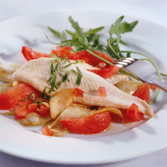 Freshly caught fish is featured on many Lenawee menus.