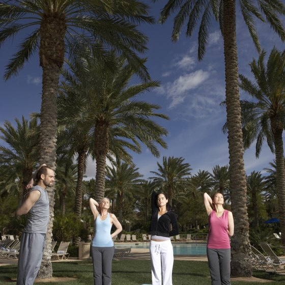 Working vacations allow instructors to learn or teach yoga in exotic settings.