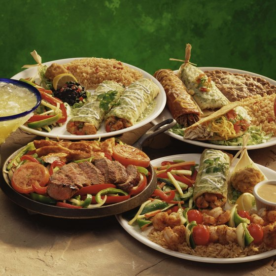 Residents of Jackson Hole can enjoy a range of Mexican dishes in some of the local restaurants.