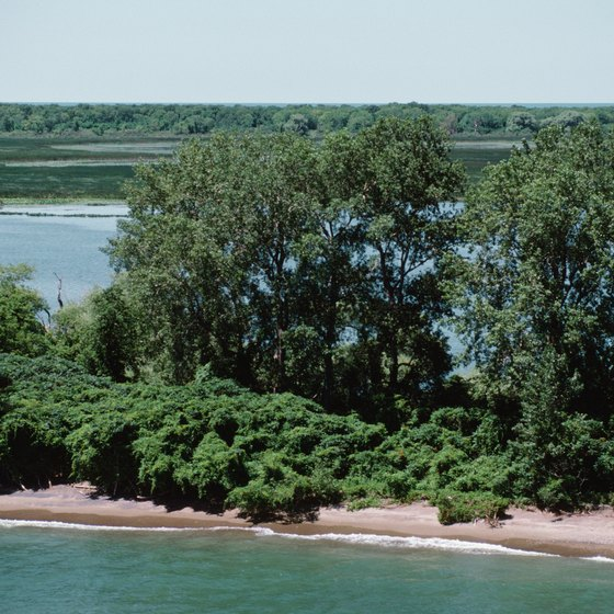 Many of Ontario's beaches feature a unique, rugged beauty.