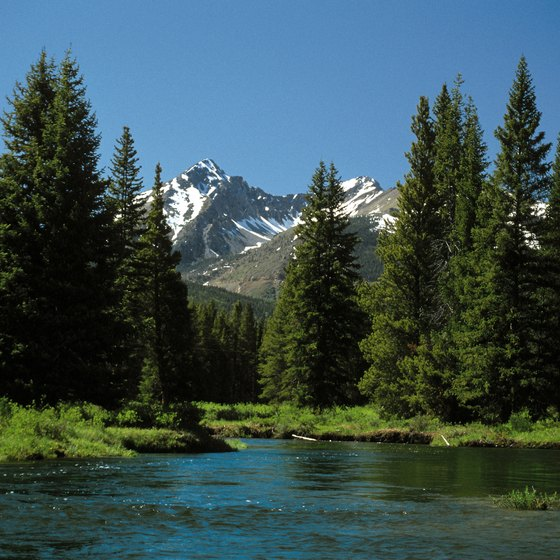 Kremmling is west of Rocky Mountain National Park.