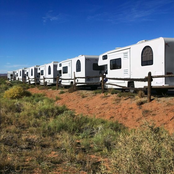 There are a variety of RV parks along the I-20 corridor.