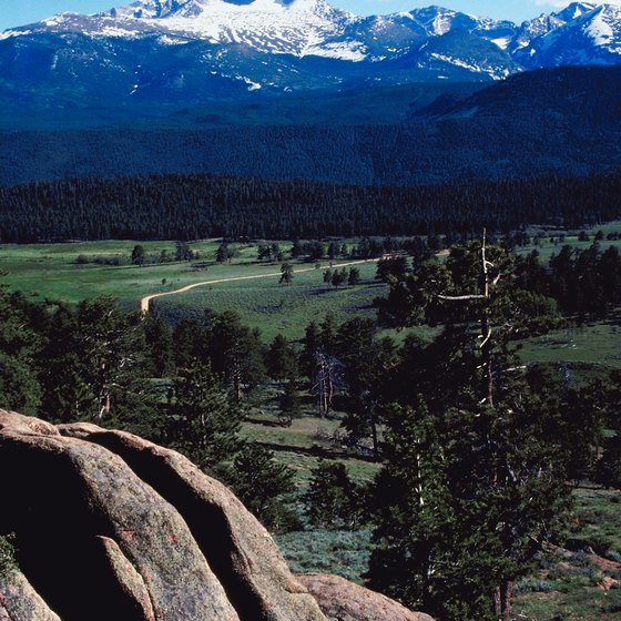 Estes Park leads into Rocky Mountain National Park.