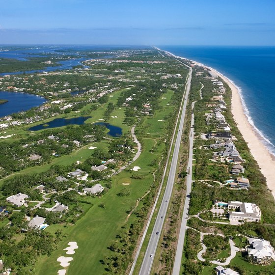 Vero Beach, Florida, offers miles of coastline.