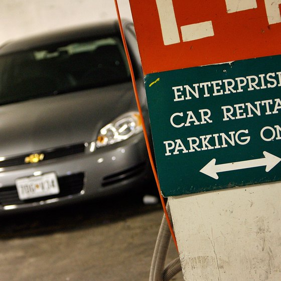 Enterprise rental car drivers must adhere to company regulations.