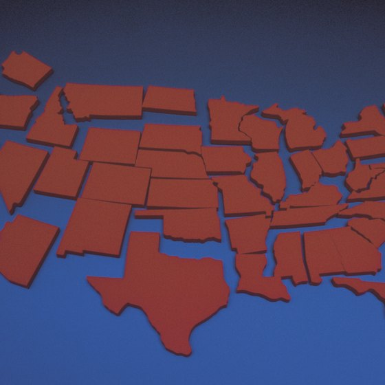 There are 50 states to choose from in America.