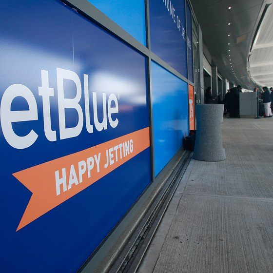 JetBlue places limitations on items passengers may carry aboard its aircraft.