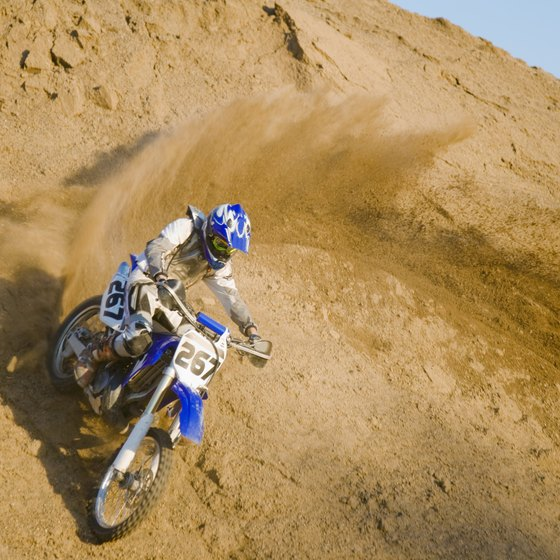 Dirt bikes allow you to enjoy California's natural beauty.