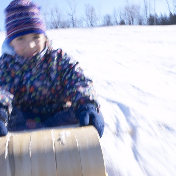 Ohio's toboggan runs have dwindled, but families can still find a toboggan thrill in the Buckeye State.