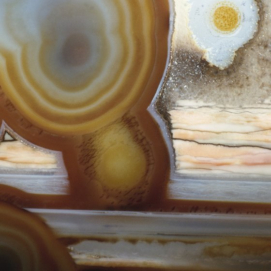 Agates specimens are the stars of Agate Days.