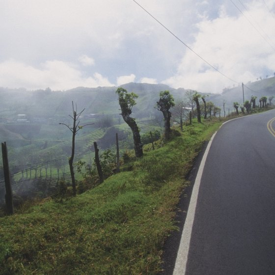 One way to see much of what Costa Rica has to offer is road travel.