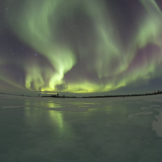 Winter is best for seeing northern lights, but not for cruising.