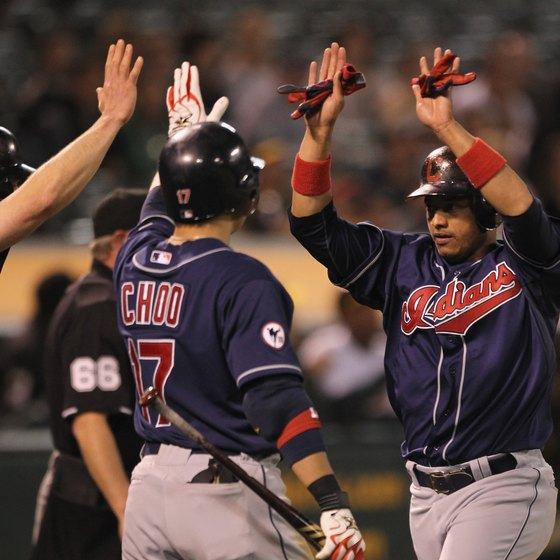 Watch the Cleveland Indians baseball team play.