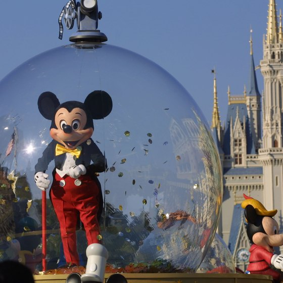 The Magic Kingdom is one of four Disney World parks.