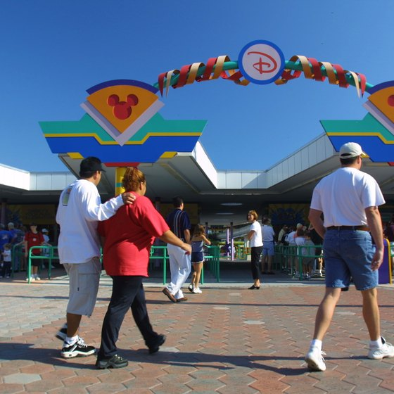 Guest Relations windows at Disney's Ticket and Transportation facility can provide information about the number of days left on a ticket.
