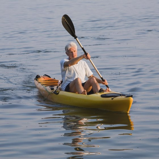 Kayaking is available on inland waterways as well as the Atlantic coastline in Delaware.