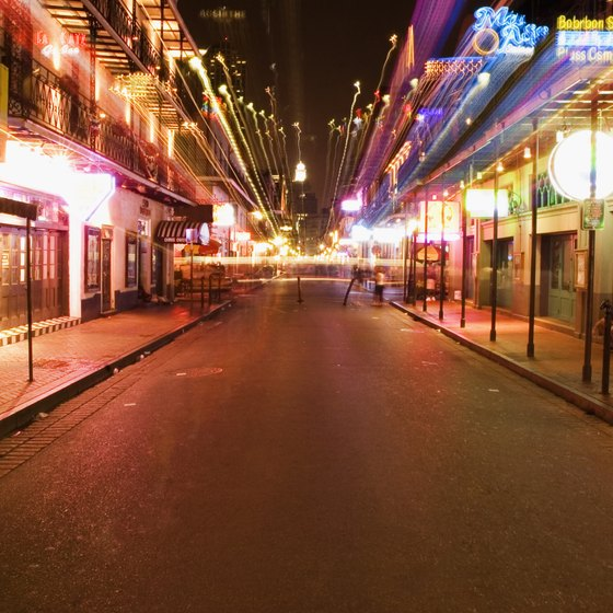Bourbon Street in New Orleans is less than two hours from Biloxi.
