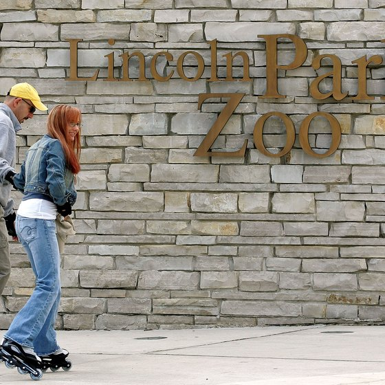 The Lincoln Park Zoo greets nearly 3 million visitors annually.