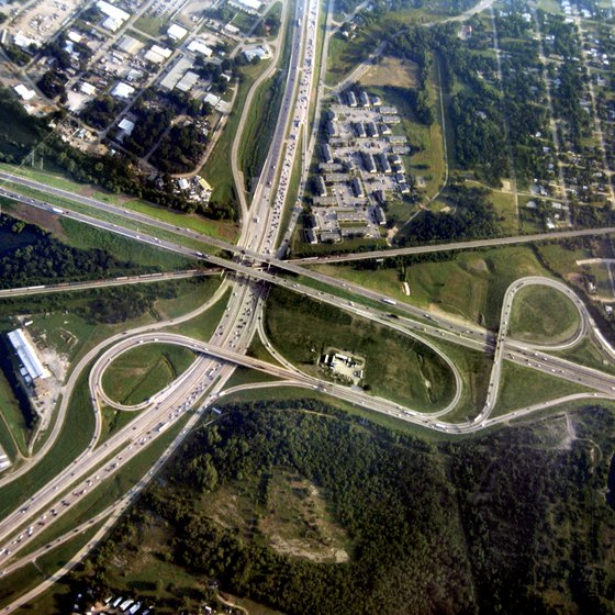Dallas-Ft. Worth highway system
