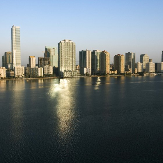 Take to the sky for a bird's-eye view of Miami.