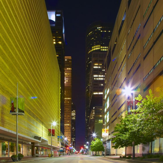The Downtown area is one of Houston's hottest neighborhoods for nightlife.