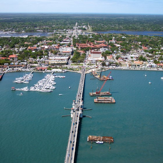 St. Augustine offers historic sights within minutes of pristine beaches and ocean surf.