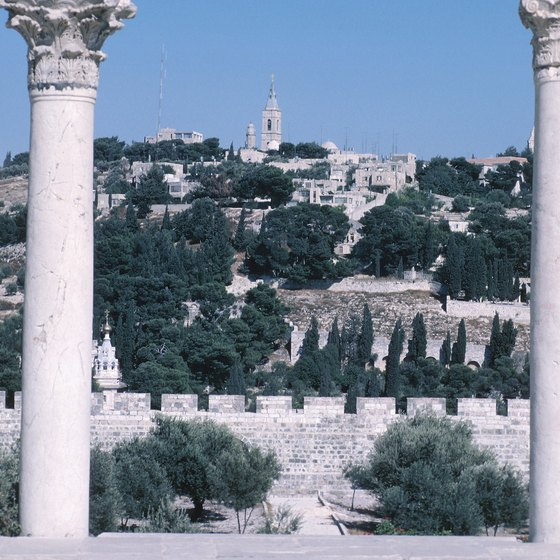 Many Jerusalem tours include a visit to the Garden of Gethsemene.