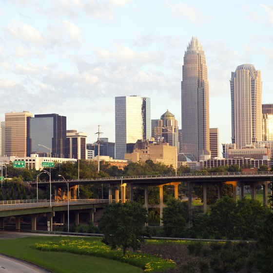 Several state parks offer canoeing less than 50 miles of downtown Charlotte.