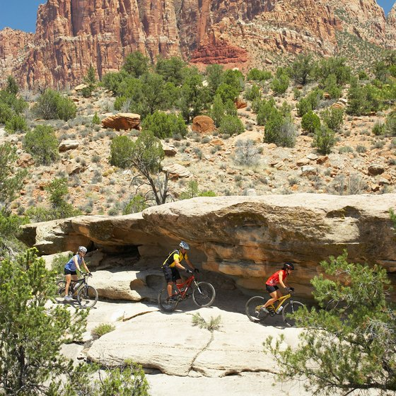 Sedona's mild climate and natural beauty make it an outdoor recreation destination.