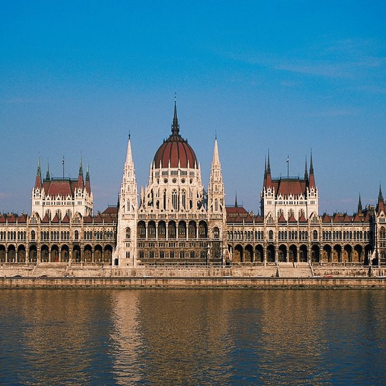 Most of Hungary's national monuments are located in Budapest