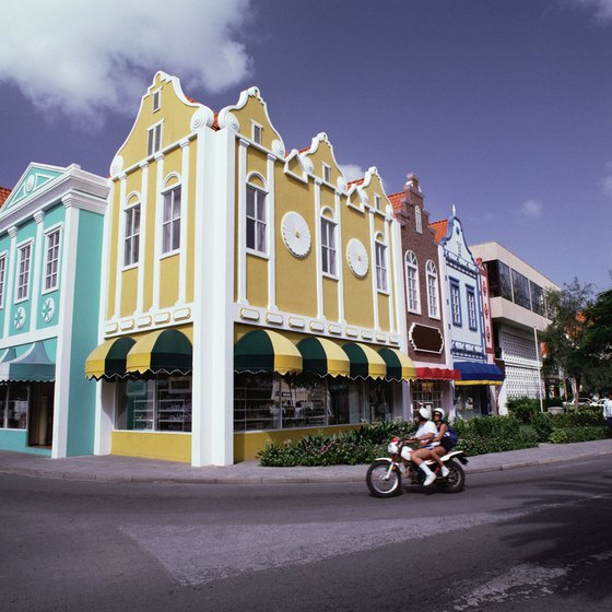 Downtown Aruba is one of the areas where you will find the island's hotels.