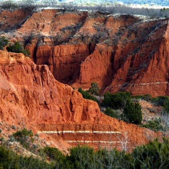 The Texas Panhandle includes the majestic Red Rock State Park.